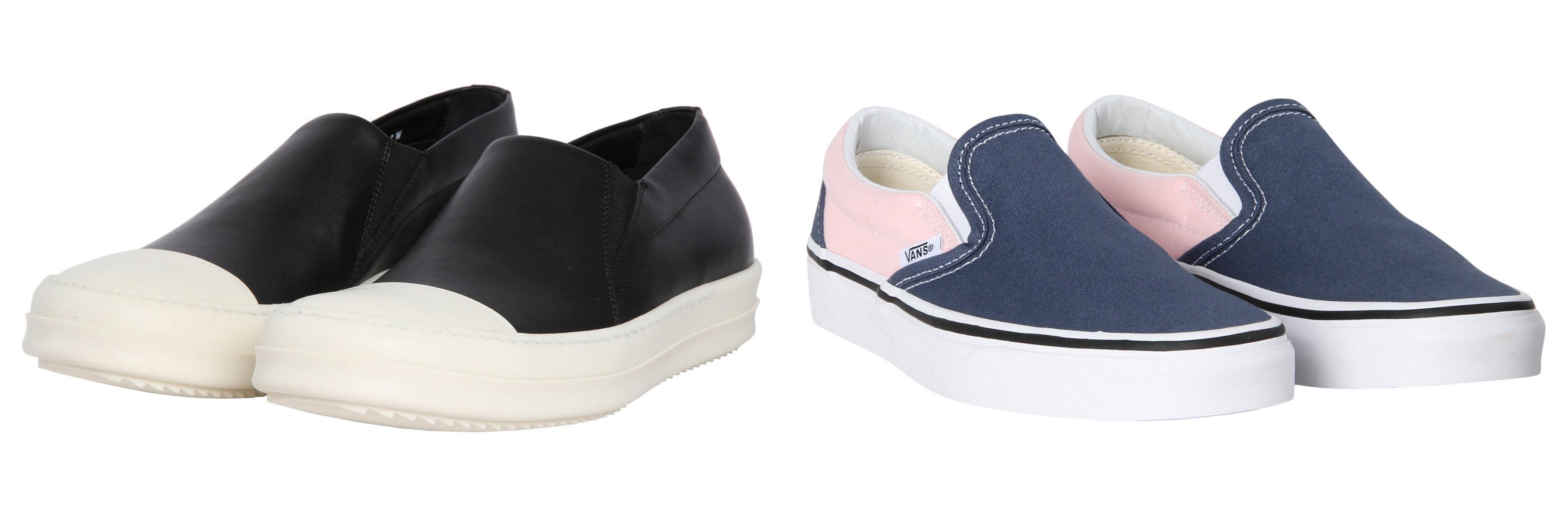 Slip on Sneaker im Slipperlook