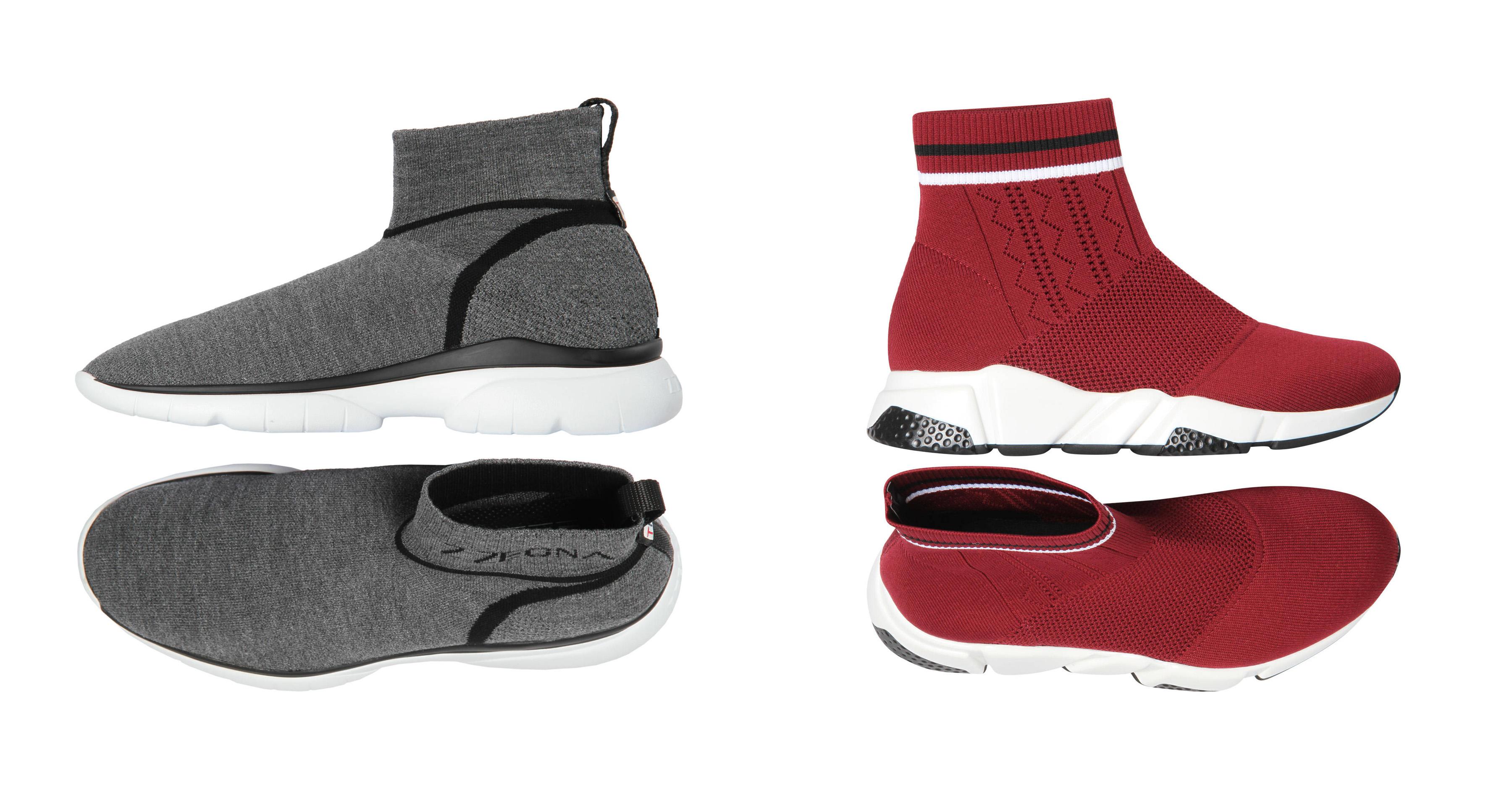 "Slip on Sneaker mit ""eingebauter Socke"""