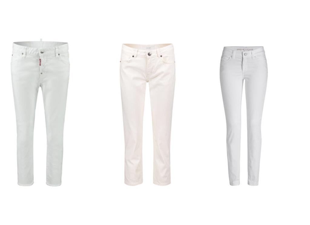 Weiße Jeans White Denim