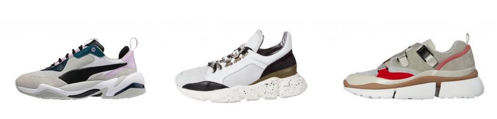 Sneaker Trends 2019 Dad Sneaker