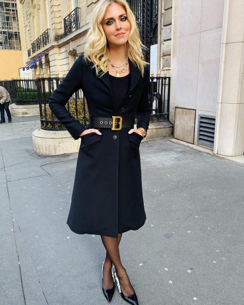 Chiara Ferragni Instagram Trend Taillengürtel