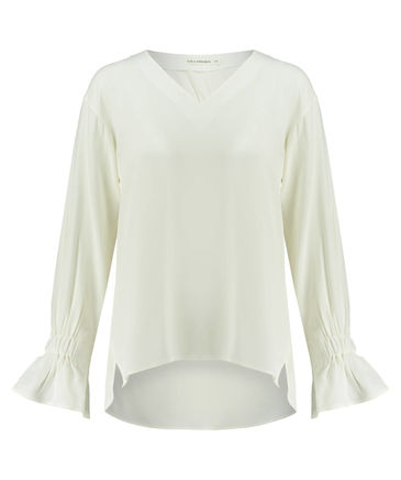 Kleiderschrank-Basic Seidenbluse