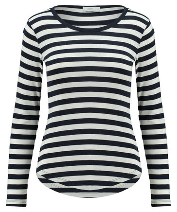 Kleiderschrank-Basics Streifenshirt