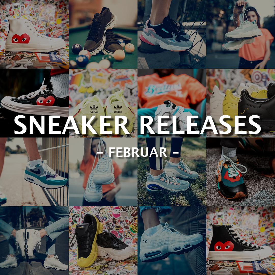 Sneaker Releases Februar
