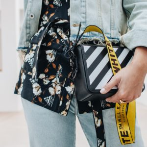 Springfashion: Denim Allover mit Off-White