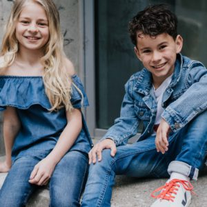 Frühlingstrends: Denim for kids