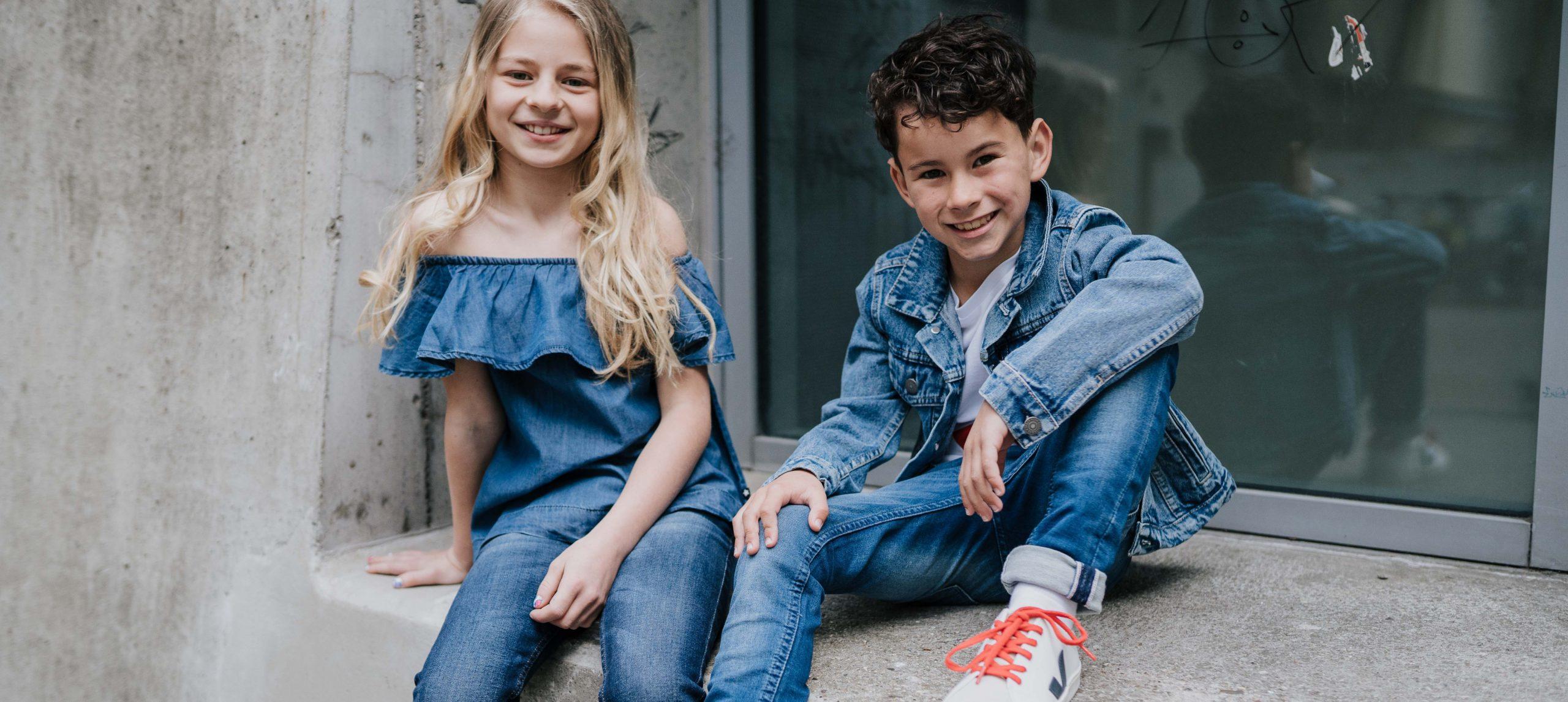Denim for kids: Frühlingstrends