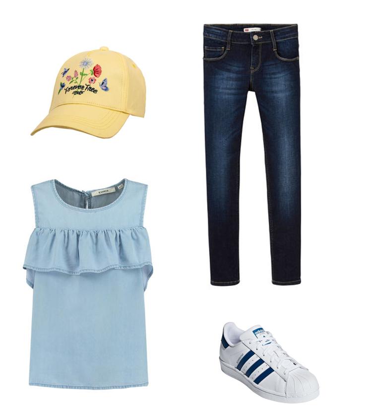 Kiko Denim Mädchen Outfit