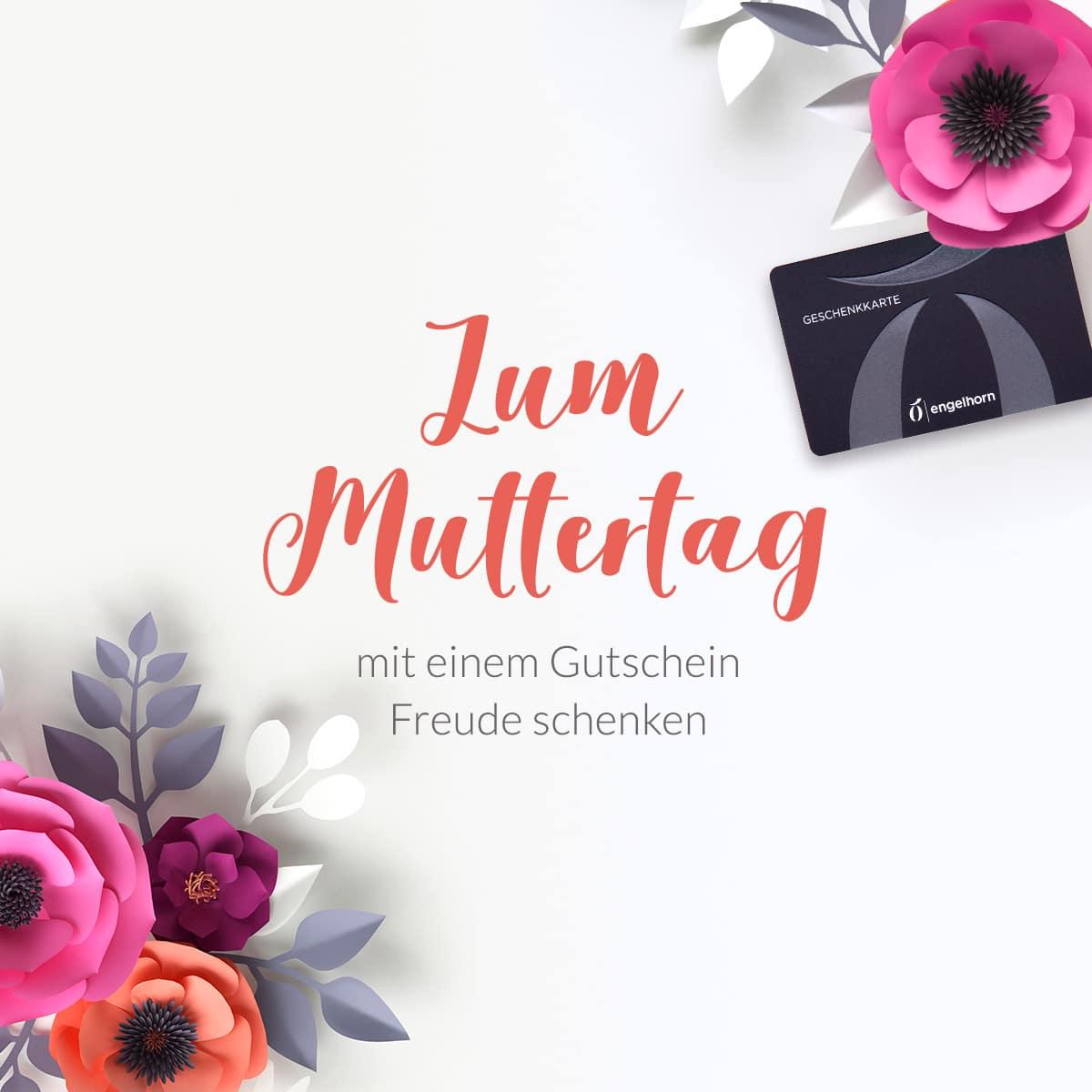 Muttertag Geschenkidee Gutschein