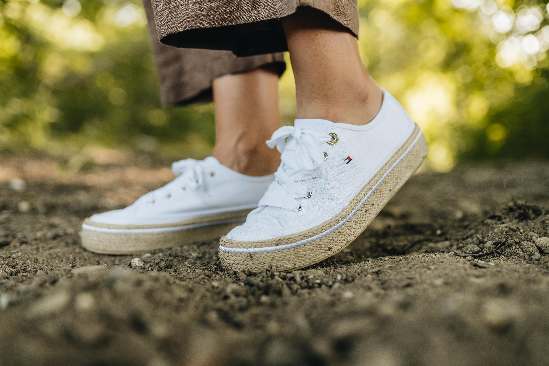 Leinen Schuhe