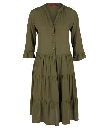 Sale Damen Kleid Volants