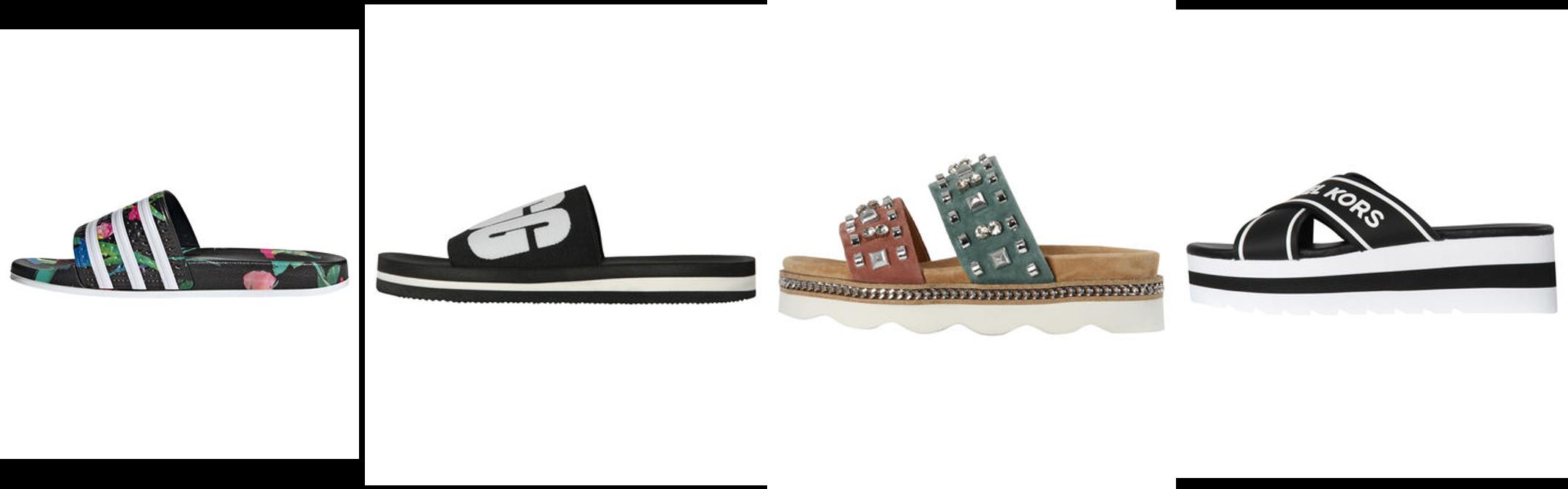 Flache Schuhe - Pantoletten