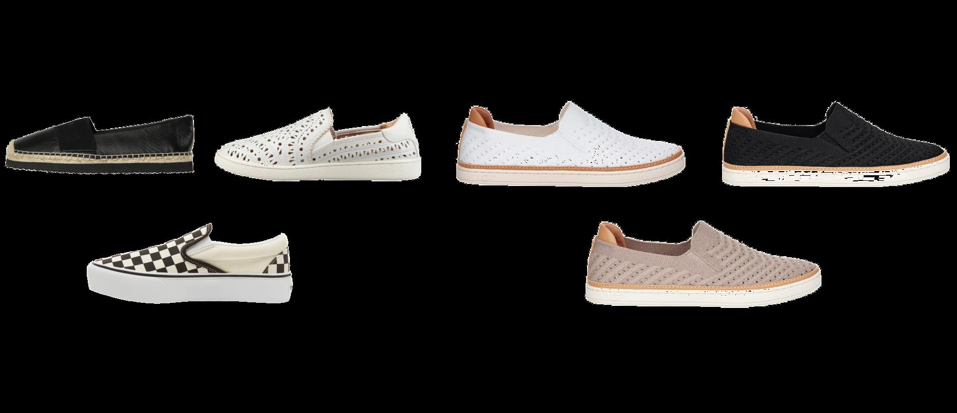 Flache Schuhe - Slipper