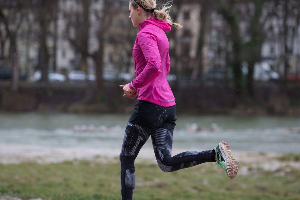 Running Frau