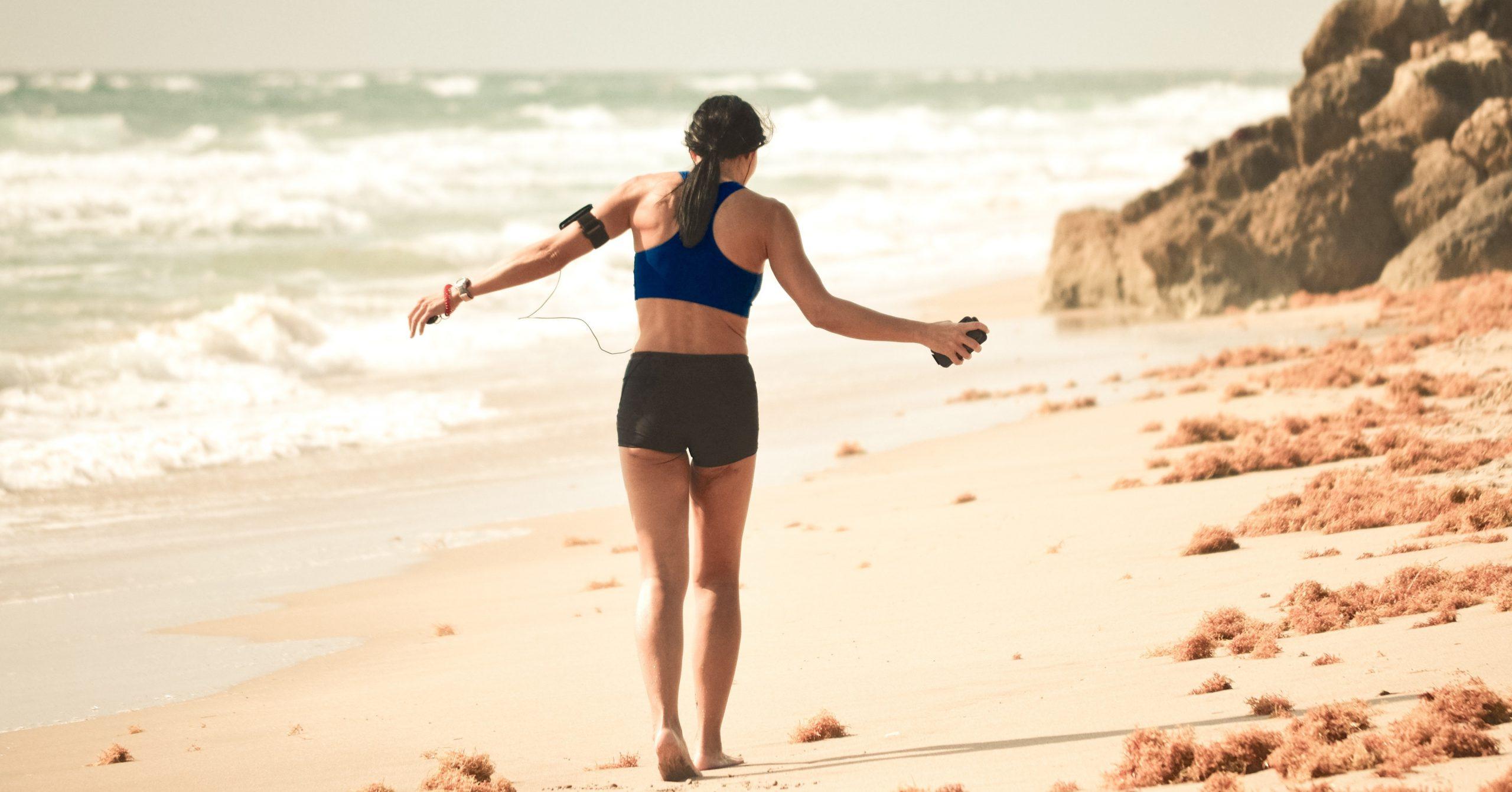 6 Tipps für Laufen am Strand