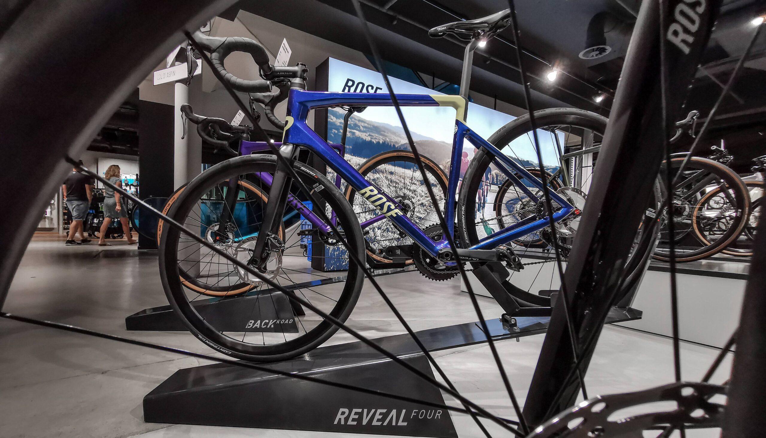 Ein Showroom für alle Bike-Liebhaber – unsere neue ROSE Bikes Fläche