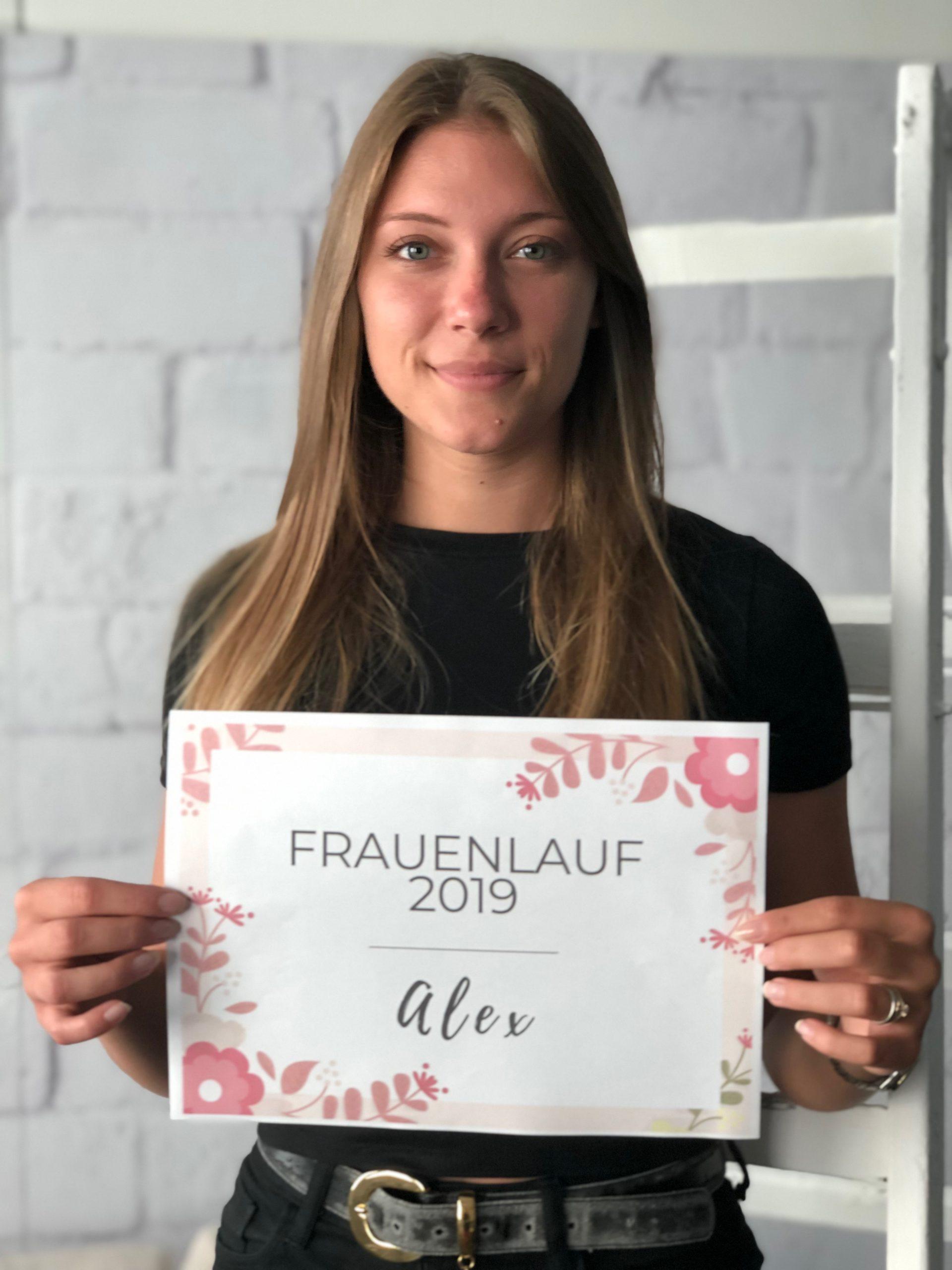 Alex' Frauenlauftagebuch 2019