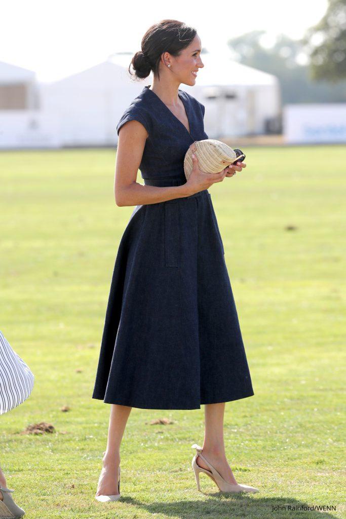 meghan Markle Blaues Kleid