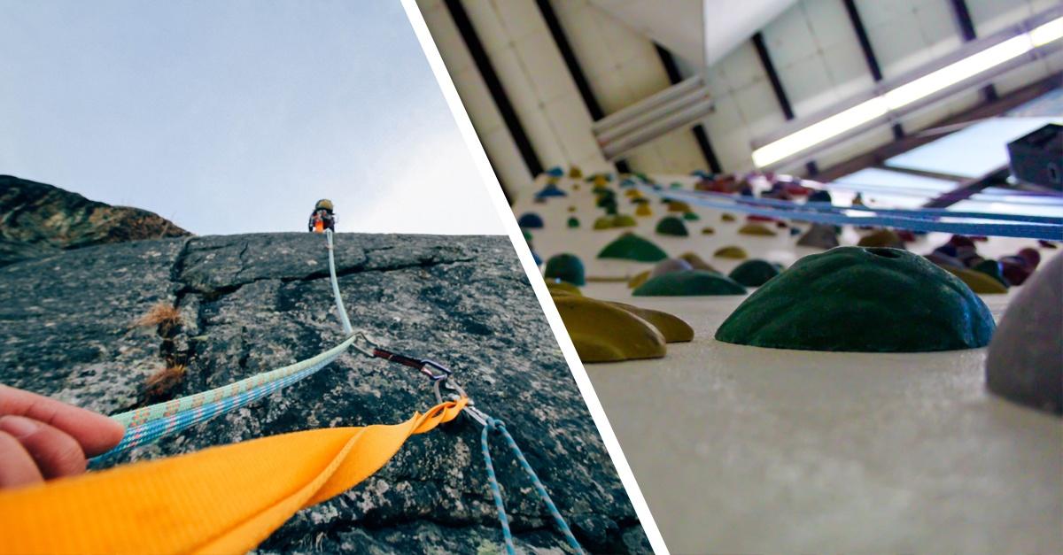 Outdoor vs. Indoor - Die 7 Größten Unterschiede beim Klettern