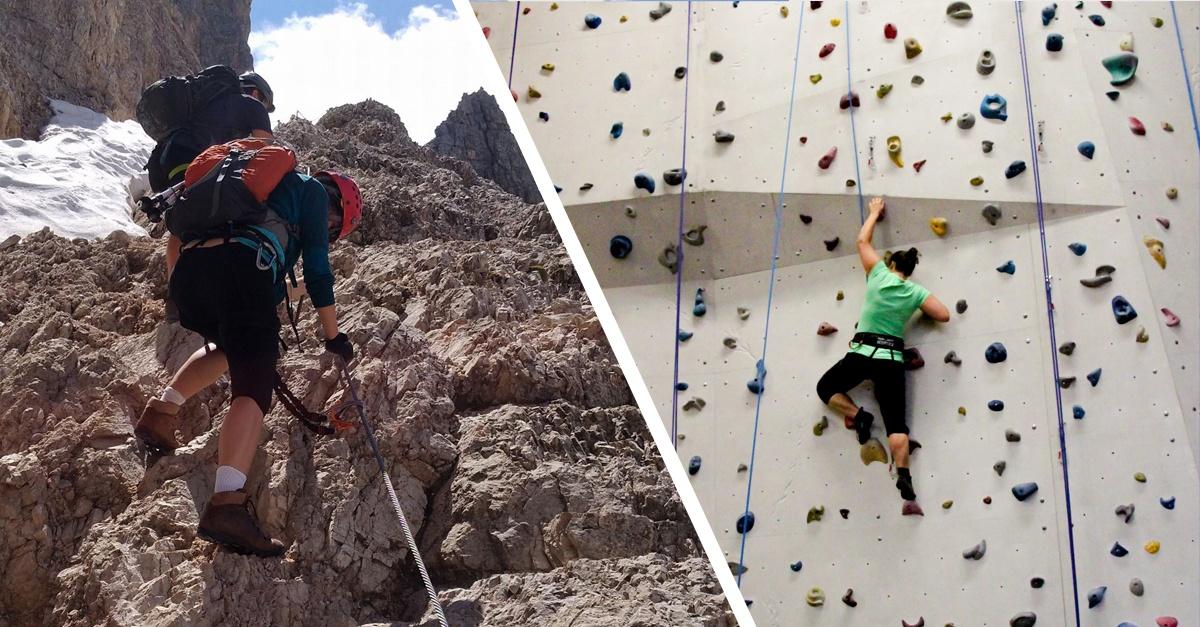 Outdoor vs. Indoor – Die 7 größten Unterschiede beim Klettern