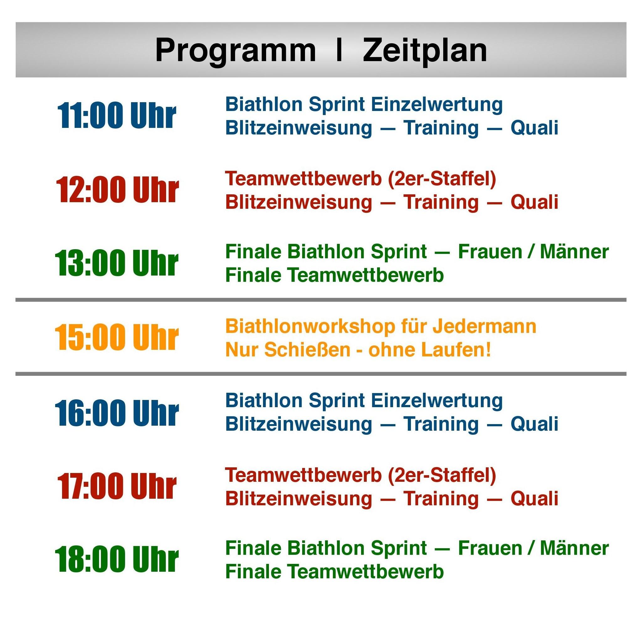 Engelhorn City Biathlon
