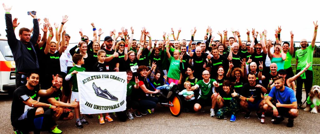 Athletes for Charity laufen für einen guten Zweck
