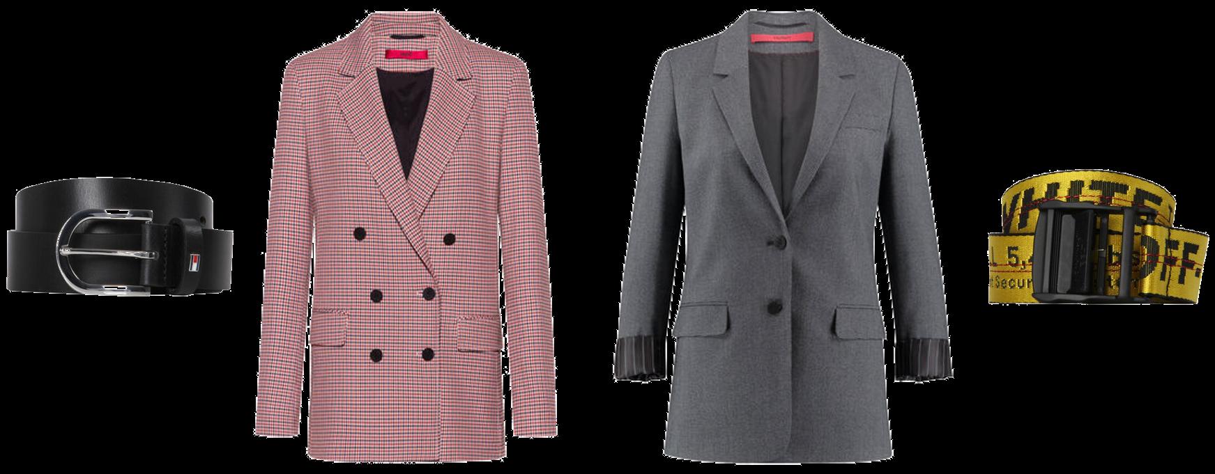 Outfitkombination Gürtel&Blazer