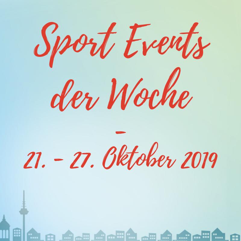 engelhorn Sportevents der Woche
