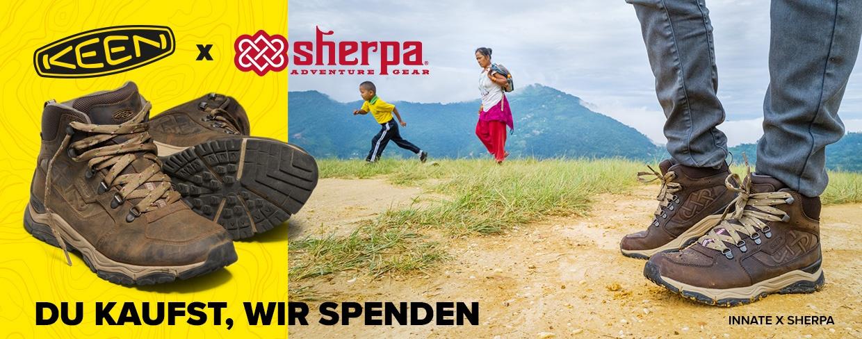 Keen X Sherpa X Room To Read - Kauft Schuhe und bringt dadurch Kindern das Lesen bei!