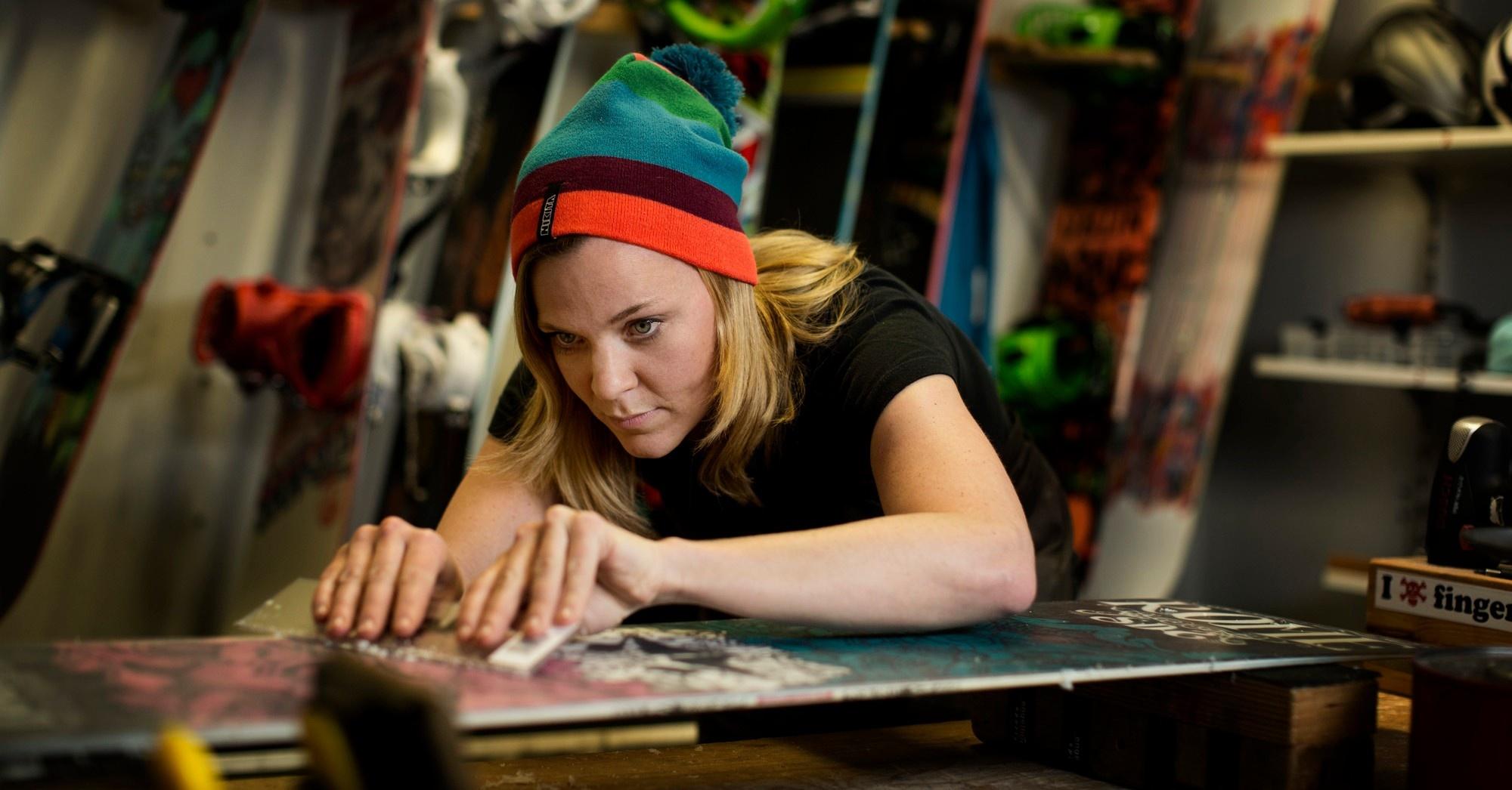 Ski- und Snowboard Service bei engelhorn sports