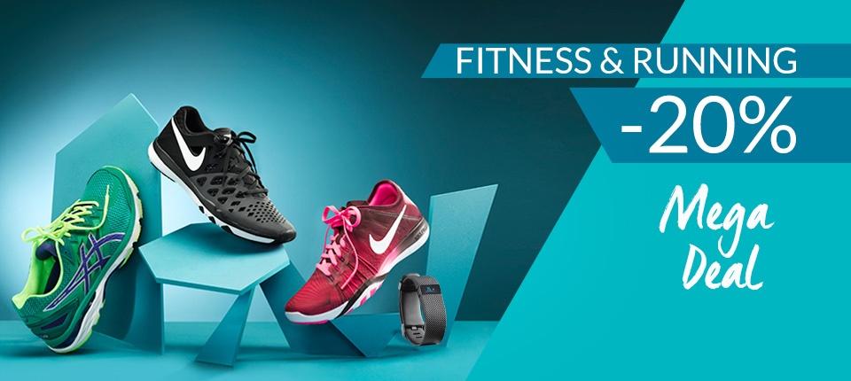 20% Extra-Rabatt auf Fitness&Running