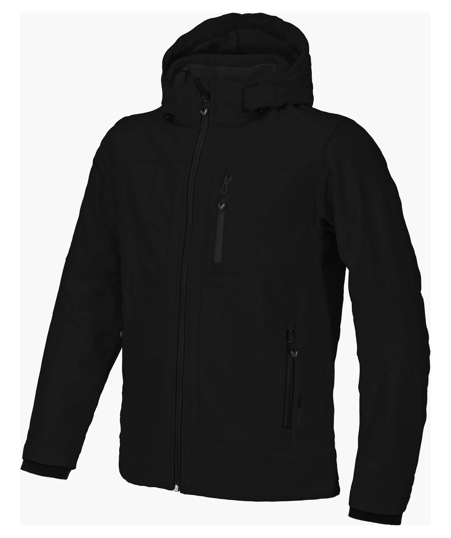 CMP Herren Softshelljacke mit Kapuze Men Softshell Jacket Zip Hood