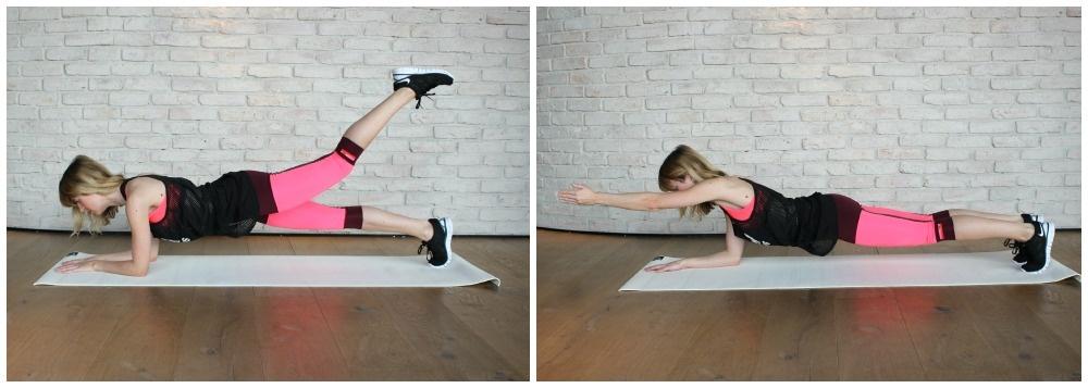 5 Übungen für einen flachen Bauch