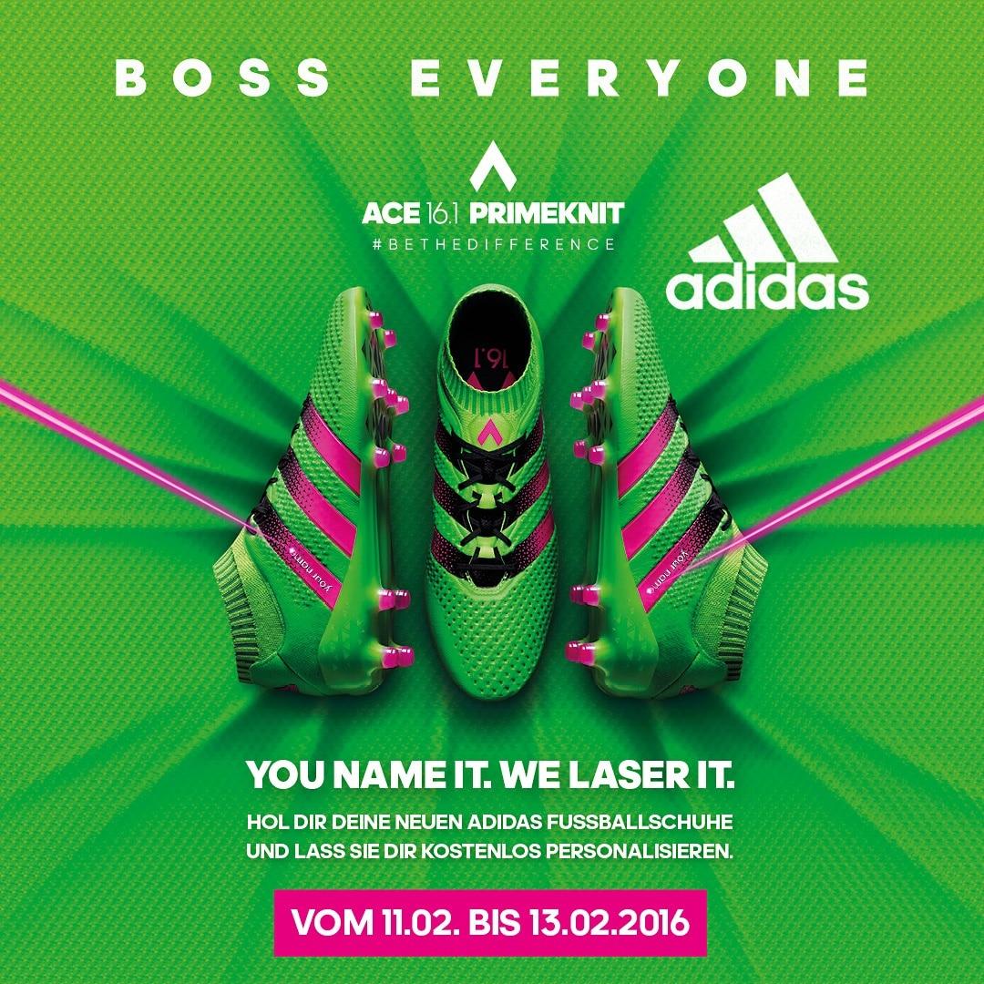 adidas ACE 16.1 Primeknit & adidas Laser-Event