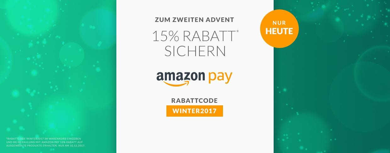 Advents-deal: 15% Extra-Rabatt