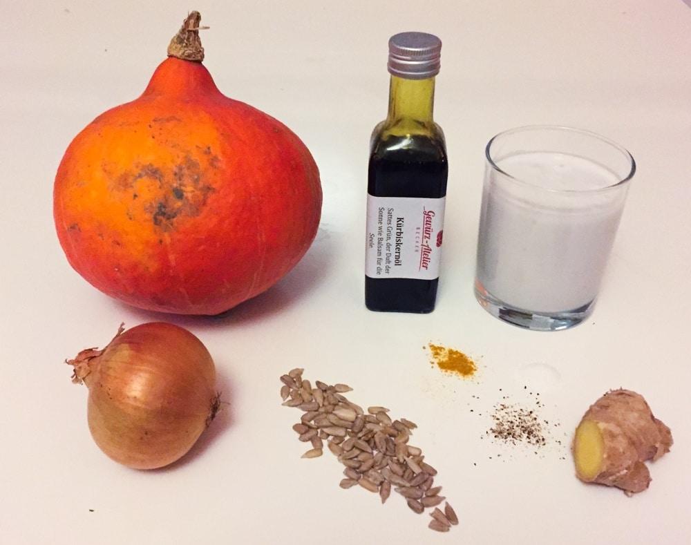 After Workout Herbst-Rezept: Kürbissuppe