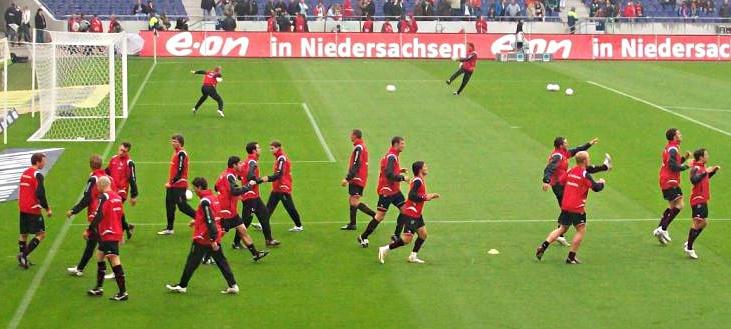 Aufwärmübungen im Fußball – Verletzungsprophylaxe und Kreislauftraining