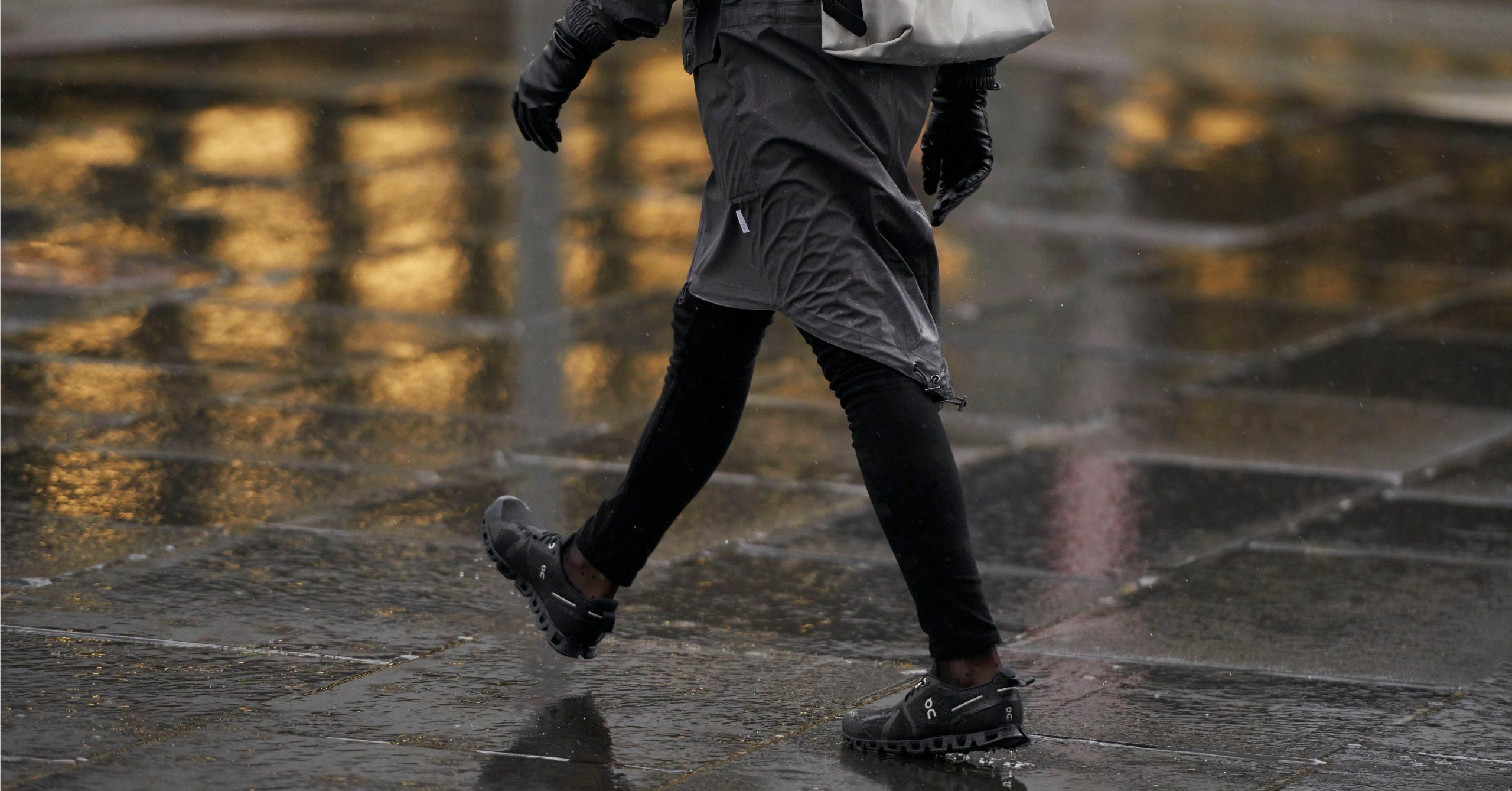 Bereit für den Herbst: Wind und Wetterschutz
