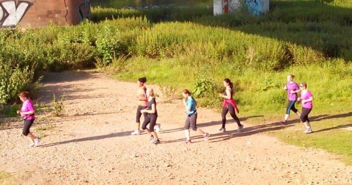 Bilder vom Lauftreff am 25.06.2015
