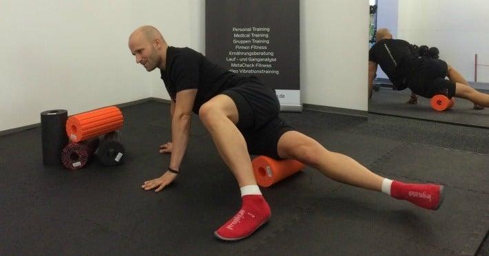 Blackroll-Workout: 5 Übungen für mehr Beweglichkeit