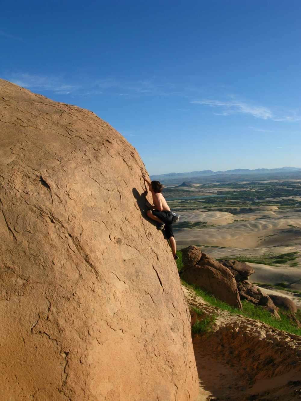 Bouldertrip in die innere Mongolei