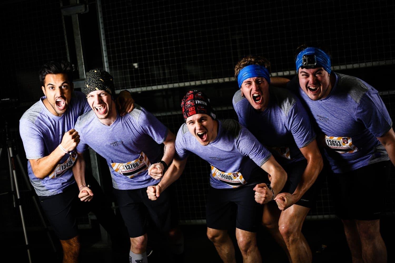 Das engelhorn sports Team beim Fisherman's Friend Strongmanrun 2014
