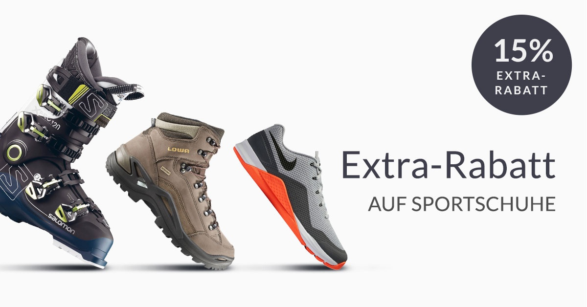 Deal Of The WEEK: 15% Auf Schuhe