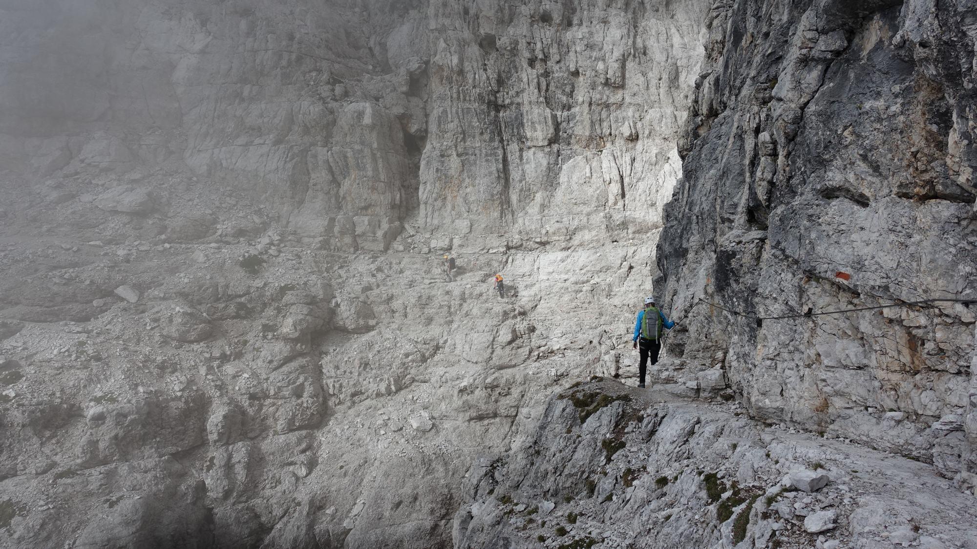 Der Bocchette Weg in der Brenta – Teil 1: Sentiero Bocchette Alte