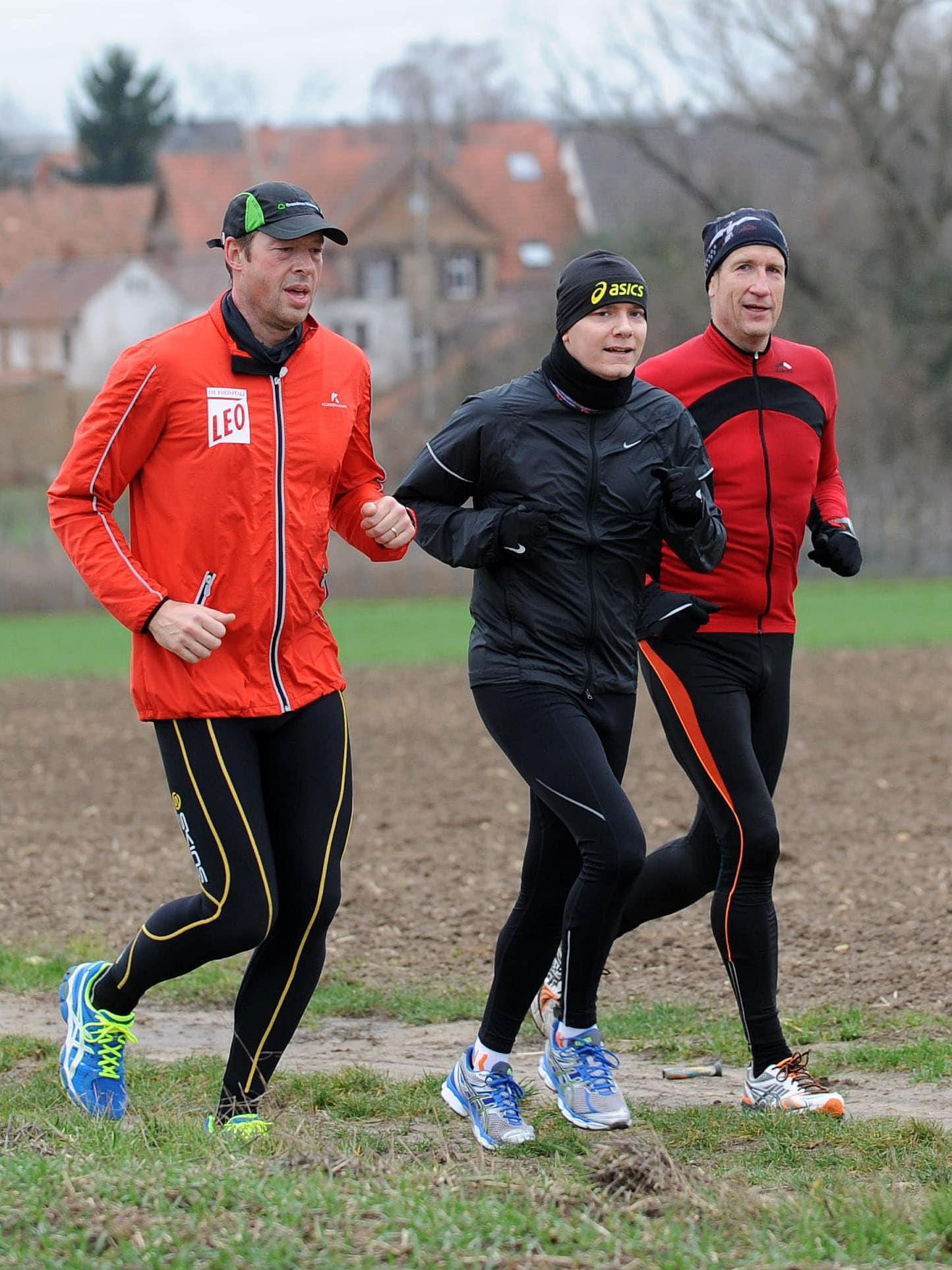 Der Marathonmann: Auch mit schmutzigen Socken gibt es Blasen