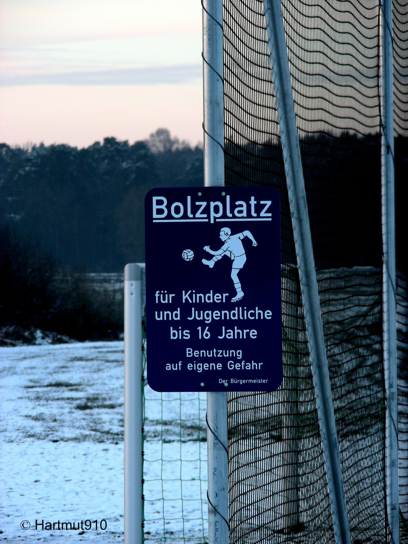 Der Mythos Bolzplatz – Regeln für den freien Fußball