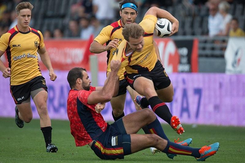 Die deutsche 7er Rugby-Nationalmannschaft auf dem Weg zu Olympia
