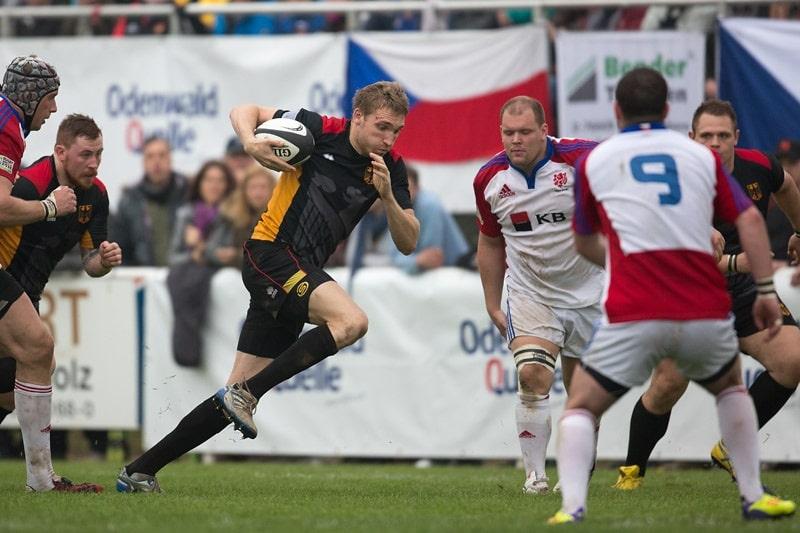 Die deutsche Rugby-Nationalmannschaft in den WM-Playoffs