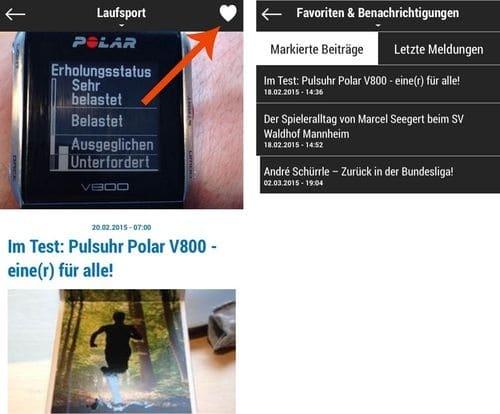 Die engelhorn sports App fürs Handy: Jetzt downloaden