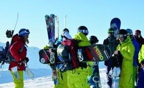 Die Freeride Mission: 3 Gruppen, 3 Bergführer & 3 Sportgeräte